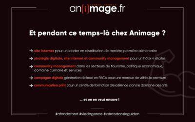 Et pendant ce temps-là chez Animage ?