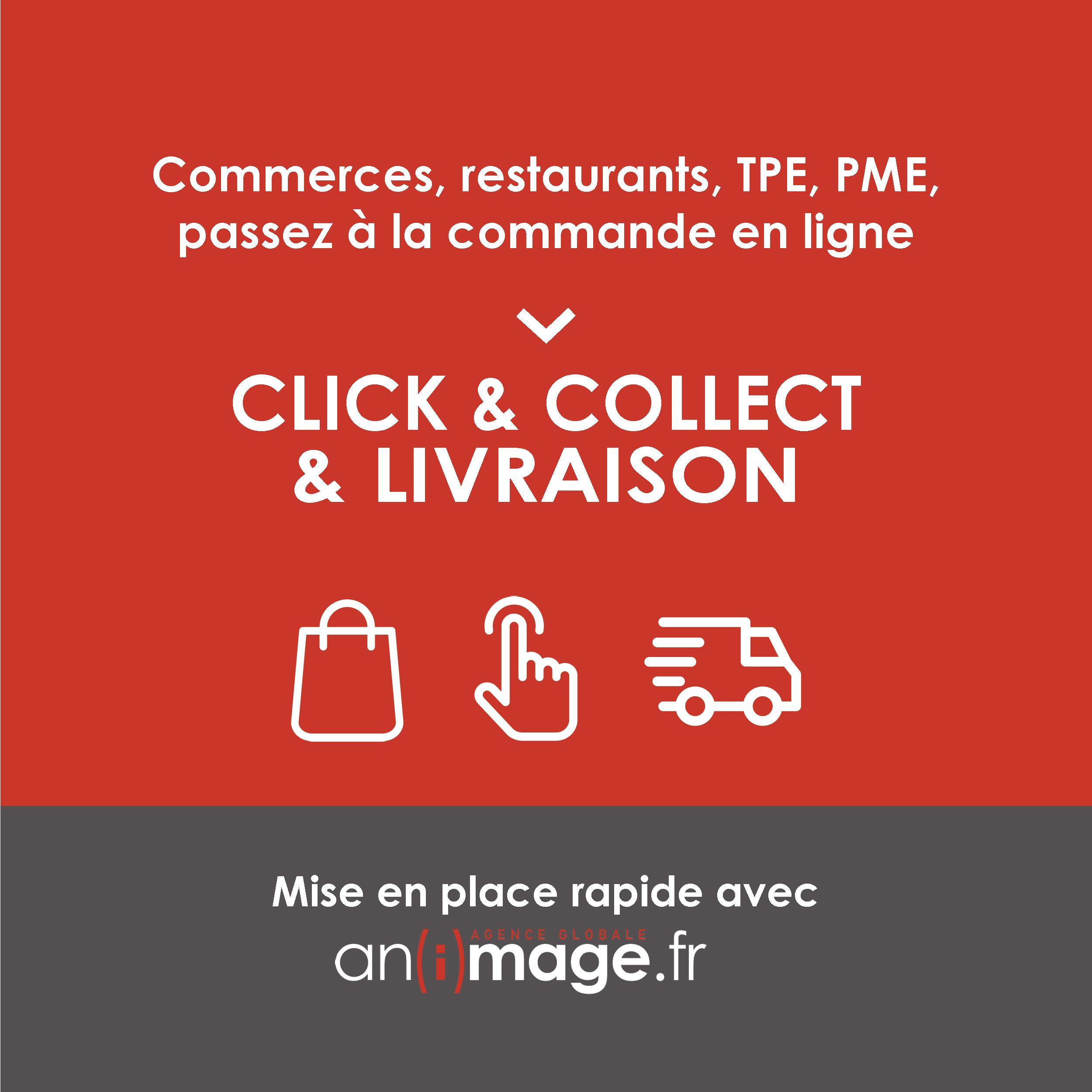 E-shops : vendez en ligne, livraison, click & collect